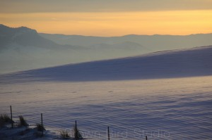 Layers of Icy Air